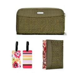 Travelon RFID Wallet, Passport Case & Luggage Tag in  4 colo
