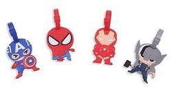 Finex Set of 4 Avengers Captain America Iron Man Spiderman T