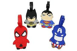 Finex Set of 4 Batman vs Superman Avengers Spiderman Captain