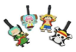 Finex - Set of 4 - One Piece Straw Hat Pirates Travel Luggag