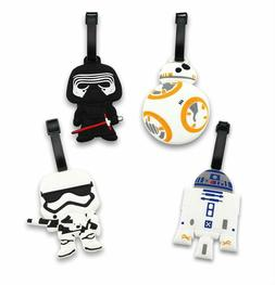 Finex Set of 4 - Star Wars BB-8 Travel Luggage ID Tag Bag Su