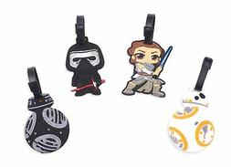Finex Set of 4 Star Wars: The Last Jedi Travel Silicone Lugg