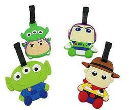 Finex Set of 4 Toy Story Woody Buzz Lightyear Squeeze Alien