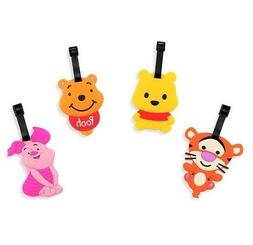Finex - Set of 4 - Winnie the Pooh and Friends Tigger Piglet