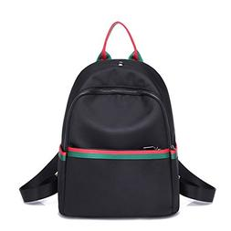 shoulder bag handbag nylon silk cloth backpack college wind