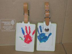TUMI St Jude Children's Research Hospital HANDPRINT Leather