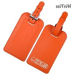 Stylish Microfiber Leather ID Tags Business Card Holder for