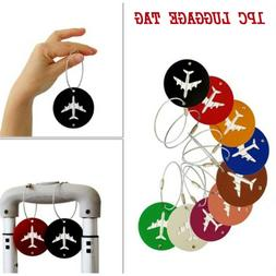 Travel Accessories luggage Tag Aircraft Round ShapePortable