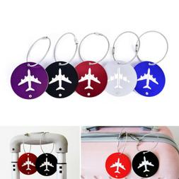 Travel accessories luggage tag Round Shape Portable Secure S
