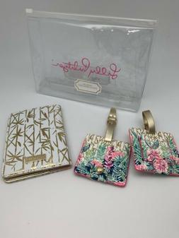 Lilly Pulitzer Travel Set, Passport Cover and Luggage Tags