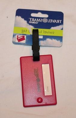 Travel Smart by ConAir Swivel Luggage Tag Hot Pink/Magenta