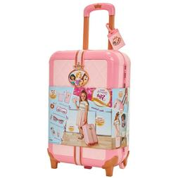 Disney Princess Travel Suitcase Play Set for Girls with Lugg