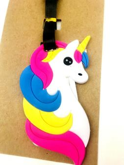 Unicorn Luggage Tag Kids Accessory ID Tag Children Travel Gi