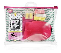 NPW-USA 7 Piece Beauty Junky In-Flight Essential Travel Comf