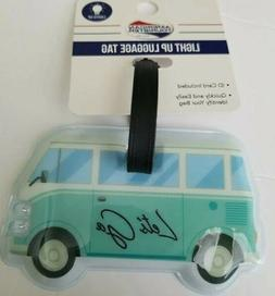 AMERICAN TOURISTER VW BUS LUGGAGE TAG with ID CARD ~ Headlig