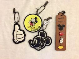 Disney x Coach Luggage Tag Set of 3 and Pin Set New 2017 Mic