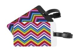 Travelon Unisex Zig Zag Patter Luggage Tags